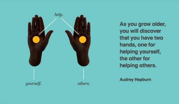 46e0797c77ecd3b34f0c723c9d004a4d--two-hands-audrey-hepburn-quotes